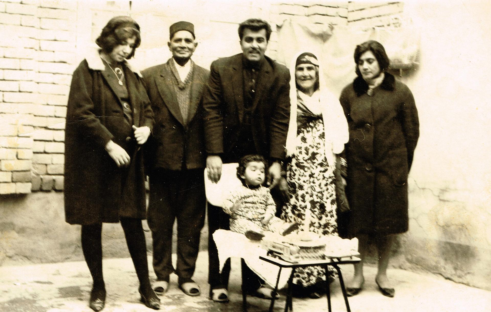 Kamal Mukerji's family