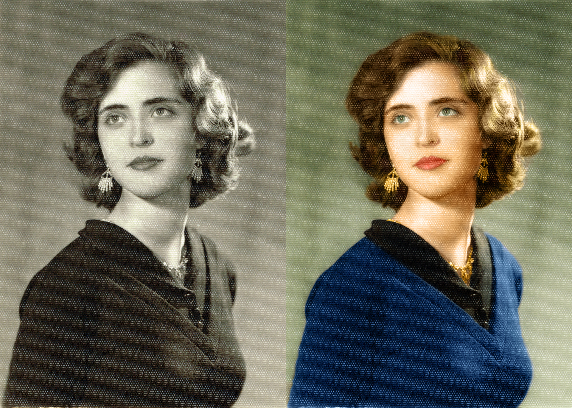 Colourized Picture by Nawa Mukerji